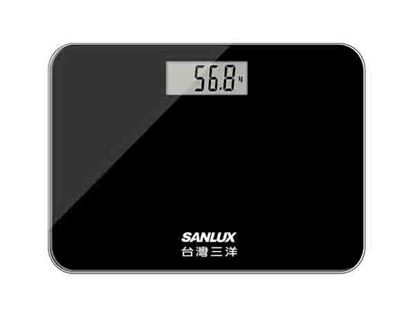 台灣三洋SANLUX~數位體重計(黑色)SYES-301MK(1入)【D060257】※限宅配/無貨到付款