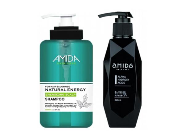 Amida~蜜拉平衡去脂洗髮精250ml+超級果酸一點靈220ml 組合款【D002535】