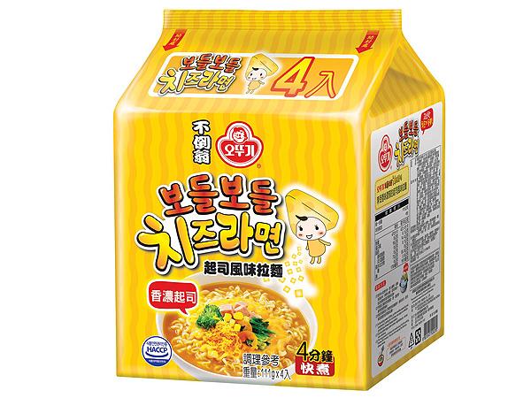 韓國不倒翁~ 起司拉麵(4入裝)【D520230】