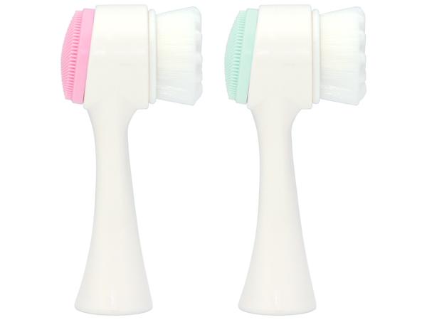 九號美人~雙面凸點洗臉刷(1支入) 粉紅/粉綠 多款可選【D152613】