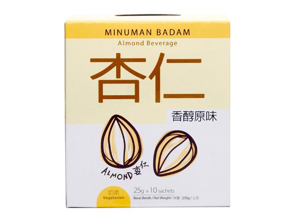 馬廣濟~香醇原味杏仁飲-盒裝(25gx10隨行包)【D883167】