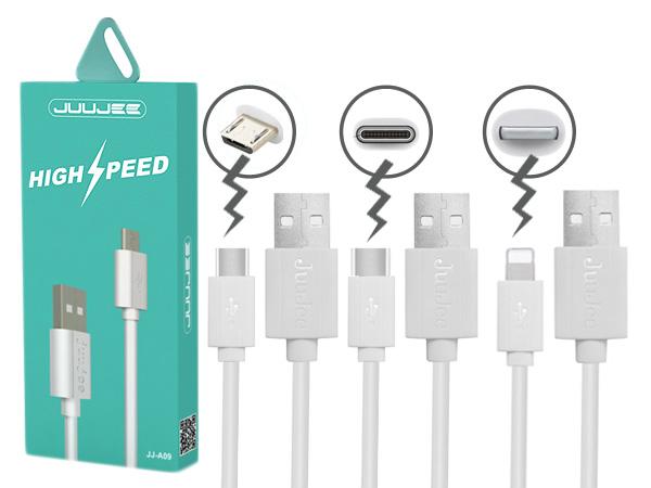 JUUJEE~高端快充數據充電線(1M)1條入~Mirco USB/TypeC/IOS 3款可選【D020819】