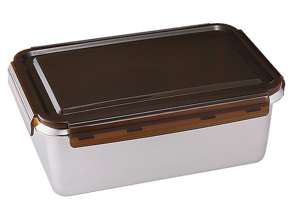 掌廚可樂膳~316不鏽鋼長方保鮮便當盒(1450ml)【D501185】