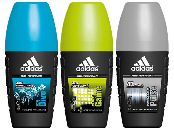 Adidas 愛迪達~男用制汗香體滾珠(40ml) 款式可選【D976358】