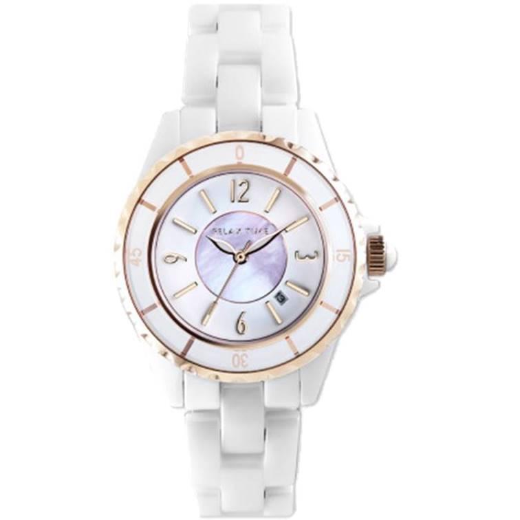 Relax Time RT-93-13 經典陶瓷系列水晶手錶