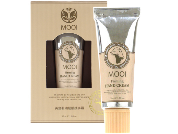 MOOI~ 黃金貂油逆齡護手霜(30ml)【D001930】