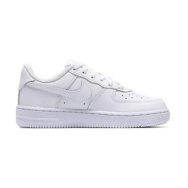 Nike Force 1 (PS) 中童 白 經典 皮革 運動 休閒鞋 314193-117