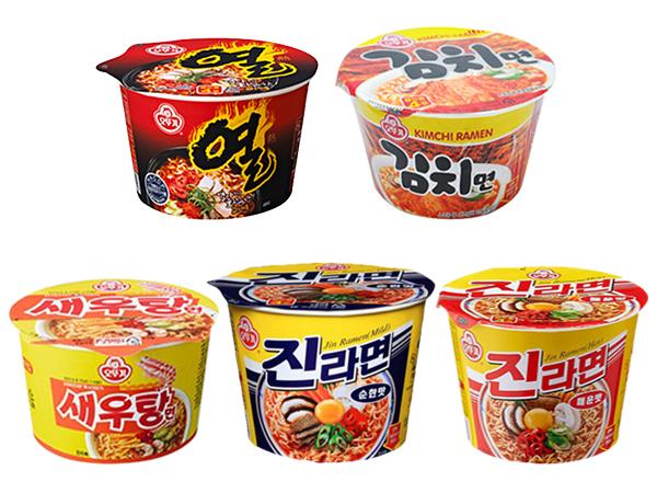韓國不倒翁~碗麵(1入) 5款可選【D570716】團購/泡麵