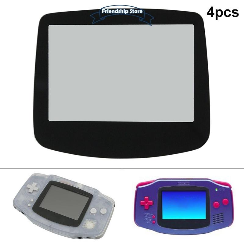 4pcs 玻璃屏幕鏡頭, 帶粘合劑, 適用於 Nintendo Game Boy Advance Gba 保護貼