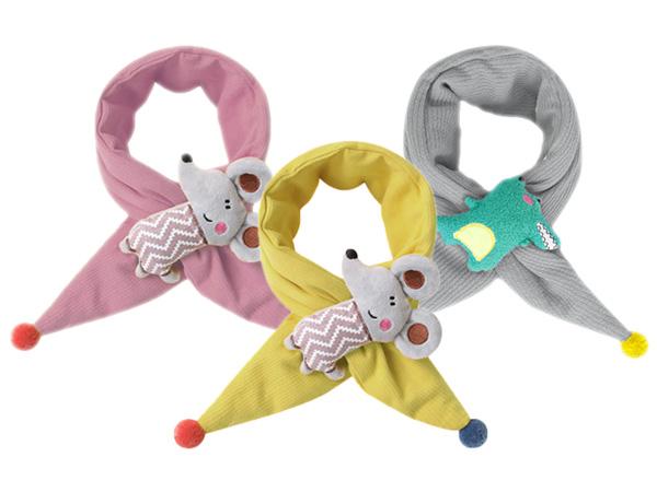可愛動物針織兒童保暖圍巾(1入) 款式可選【D080008】