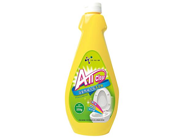 多益得~AllClean浴室馬桶水垢清潔劑(550g)【D689503】