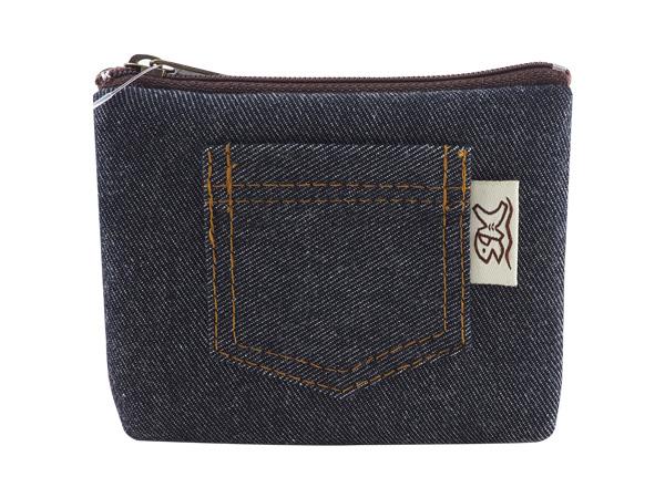 丹寧風造型零錢包(1入)【D980287】