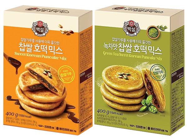 韓國 CJ~DIY糯米糖餅粉(400g) 黑糖/抹茶口味 款式可選【D231853】