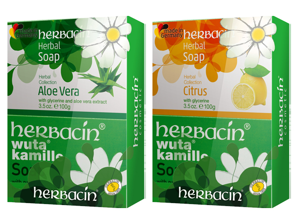 herbacin 德國小甘菊~經典蘆薈/檸檬好朋友雙皂組(100gx2) 兩款可選【D961037】香皂