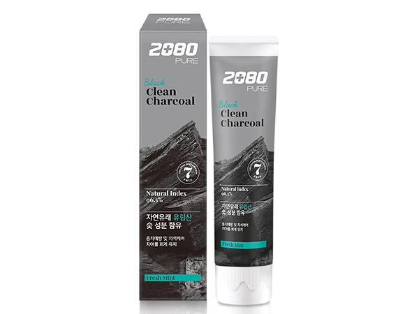韓國 2080~北歐純椰活性碳淨白牙膏(120g)【D328903】