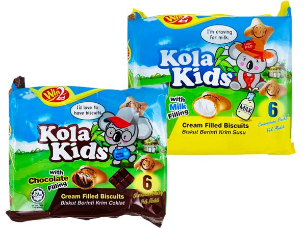 馬來西亞WIN2~無尾熊夾心餅(96g) 牛奶/巧克力 款式可選【D105669】
