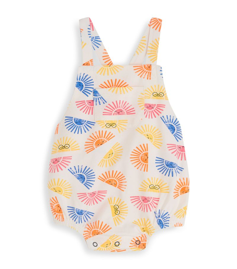 The Bonnie Mob Sunset Print Dungaree Bodysuit (0-24 Months)