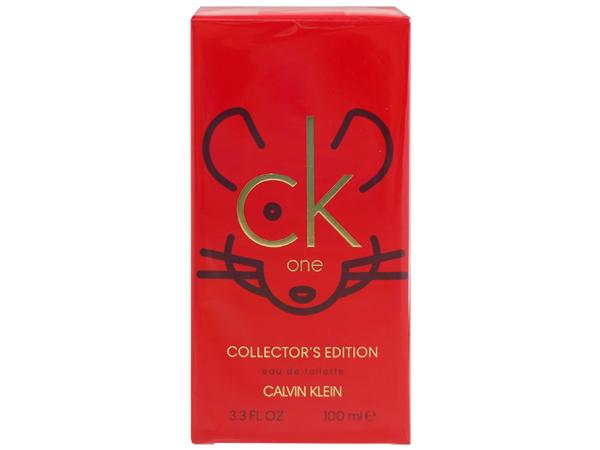 Calvin Klein~CK ONE金鼠年限定典藏版淡香水(100ml)【D401431】