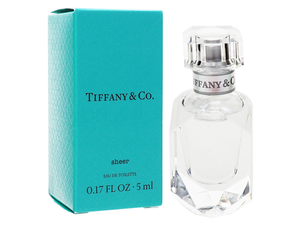 Tiffany&Co.~同名晶淬女性淡香水(5ml)【D071827】