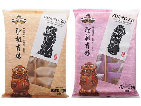 聖祖貢糖~原味/花生貢糖(12入) 款式可選【D240101】