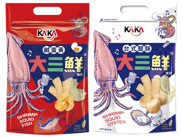 KAKA~大三鮮(脆片)105g 款式可選【D367229】