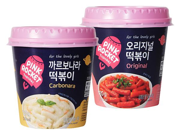 粉紅火箭義式白醬炒年糕杯/辣炒年糕杯(120g) 款式可選【D401618】