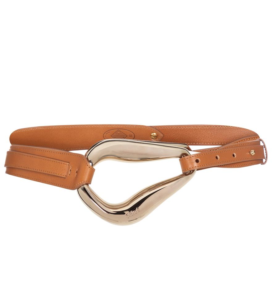 Kiss leather belt