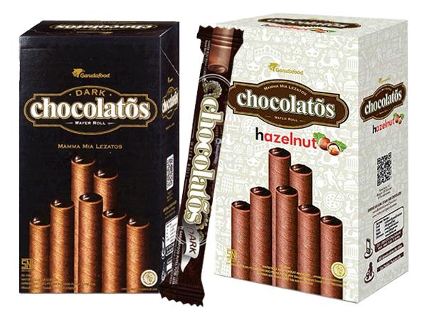 印尼 黑雪茄威化捲(1盒入) 巧克力/榛果巧克力口味/起司 款式可選【D311486】 零嘴/團購