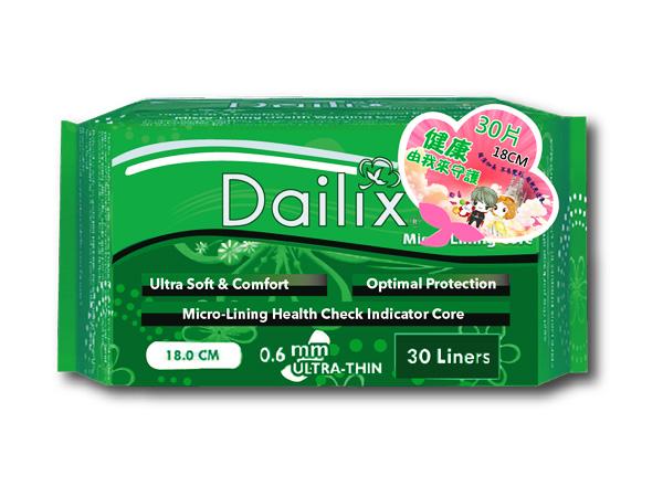 Dailix~每日健康檢查乾爽透氣護墊(18cmx30片)【D845908】