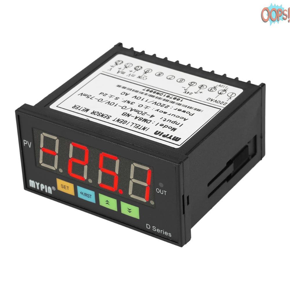 多功能傳感器顯示儀表控制器0-75mV/4-20mA/0-10V輸入DM8A-NB