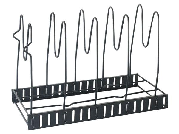 五層百變鍋具可調節間距收納架(1入)【D021484】