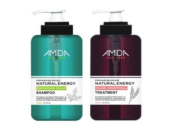 Amida 蜜拉~平衡去脂洗髮精1000ml+角質蛋白護髮素250ml【D400256】