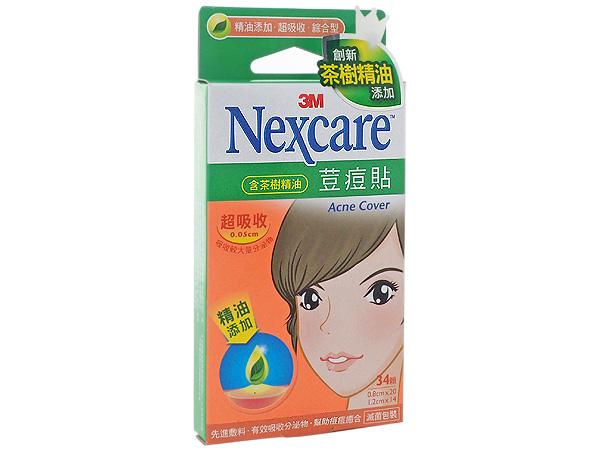 3M~茶樹精油超吸收綜合痘貼(34顆)【D438038】