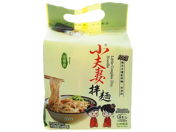 小夫妻Q麵~油蔥香乾拌麵(123gx4包入)【D825001】泡麵/團購