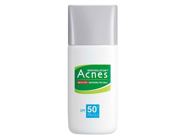 曼秀雷敦~ Acnes 藥用美白UV潤色隔離乳(SPF50+)30g【D607946】
