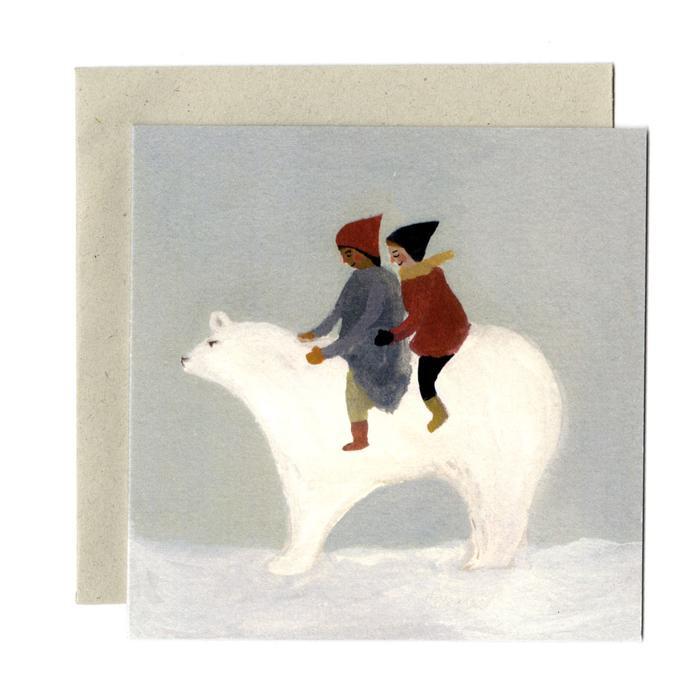 英國進口 英國直送 Gemma Koomen| 插畫家 正方形 系列 原裝賀卡️