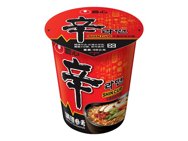 韓國 農心~辛香菇味杯麵(68g)【D270606】進口/泡麵/團購