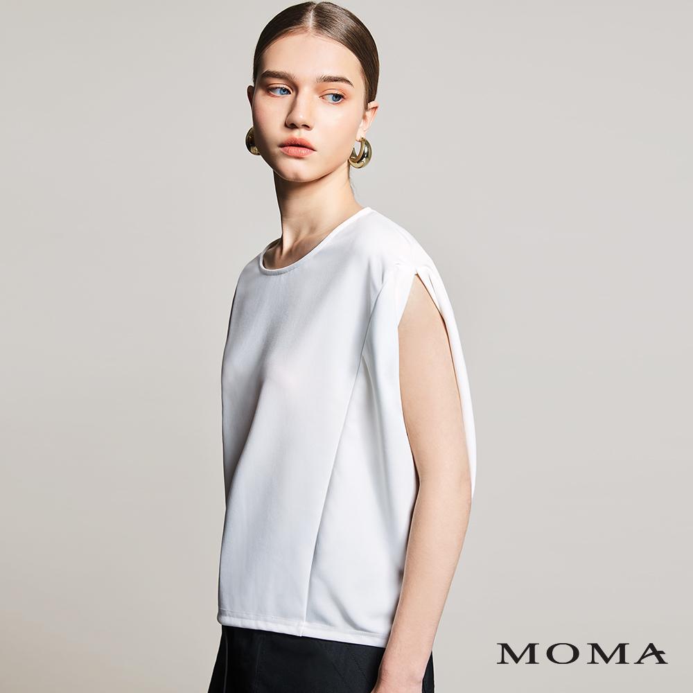 MOMA(01M004)剪接造型上衣