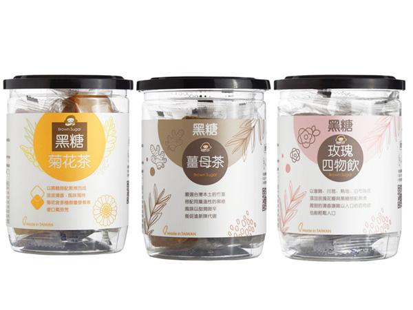 MEDOLLY 蜜思朵~黑糖菊花茶+黑糖薑母茶+黑糖玫瑰四物飲 (204g) 組合款【D100430】
