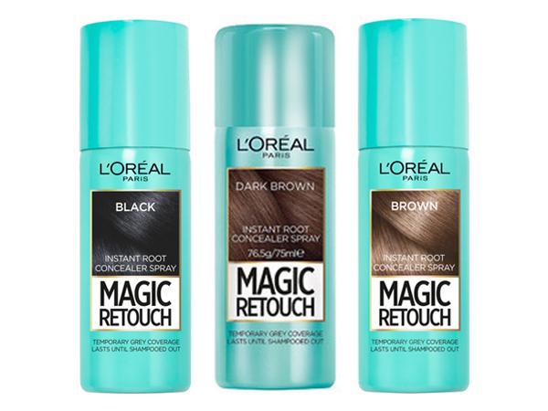 L'OREAL 巴黎萊雅~魔髮瞬效補色噴霧(75ml) 自然黑/深色棕/自然棕 3款可選【D826565】
