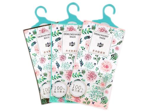 極淨~香水除濕袋(1入) 小蒼蘭/浪漫花園/黑琥珀 款式可選【D913001】