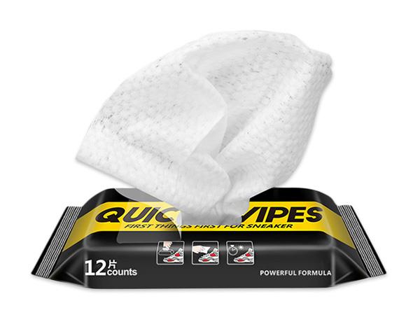 超快速去汙擦鞋濕紙巾(12片/包)【D802134】