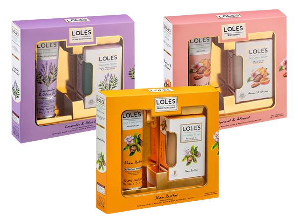 土耳其 LOLES~美體禮盒(機能皂150g+美體乳100ml) 款式可選【D082604】