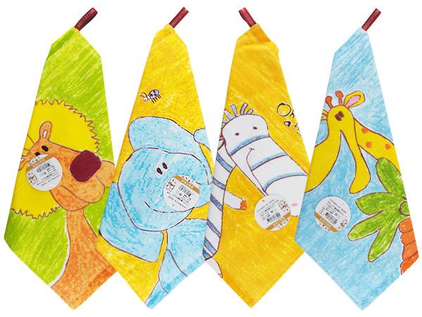 歡樂動物方巾(1入) 款式可選【D763271】擦手巾/擦掛巾