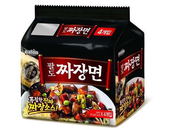 韓國 八道 Paldo~金炸醬拉麵203g X 4包(整袋裝) 【D883104】