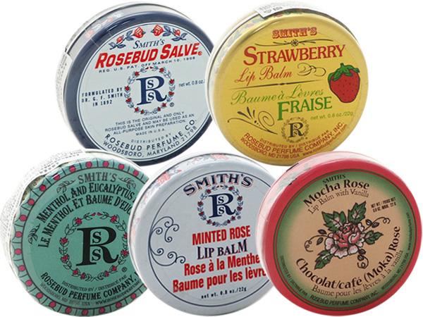 Smiths Rosebud Salve~玫瑰花蕾膏/草莓護唇膏/神奇薄荷/薄荷玫瑰/摩卡玫瑰(圓罐22g) 多款可選【D000340】