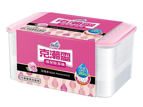 克潮靈~除濕桶(玫瑰香)1入【D060018】