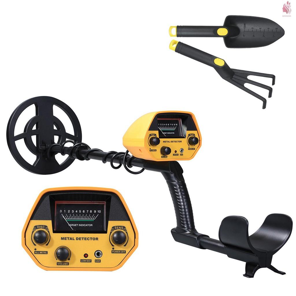 GTX5030高精度金屬探測儀地下黃金探寶探測器黃金銀銅尋寶器不配耳機帶沙鏟耙子工具(不帶電池發貨)