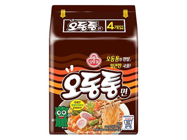 韓國不倒翁~特級海鮮風味烏龍拉麵(120gx4包)【D524344】