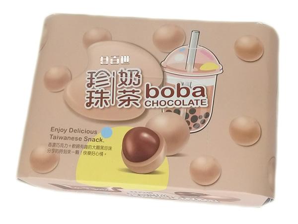 甘百世~珍珠奶茶巧克力(70g)【D026005】團購/零食